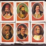 CHIBRIT / CHIBRITE / CHIBRITURI VECHI  Grecia LOT 10 cutii anul 1971 tematica personalitati CENTENARUL INDEPENDENTEI