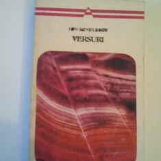 VERSURI - ION MINULESCU { COLECTIA ARCADE } ( 710 )