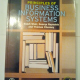PRINCIPLES OF BUSINESS INFORMATION SYSTEMS - PRINCIPIILE SISTEMELOR INFORMATICE IN AFACERI + CD { 19 X 26 CM } ( AS 22 )
