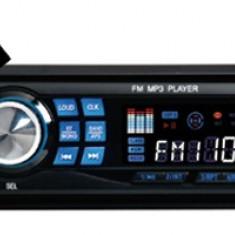 MP3 PLAYER AUTO 4x50 W CU SLOT CARD SD SI USB CU TELECOMANDA