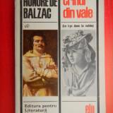 CRINUL DIN VALE Honore de balzac - Roman, Anul publicarii: 1967