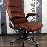 Scaun de birou , directorial,  piele fina rezistenta DEKA Managerial Maro