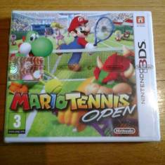 JOC NINTENDO 3DS MARIO TENNIS OPEN SIGILAT ORIGINAL / STOC REAL in Bucuresti / by DARK WADDER - Jocuri Nintendo 3DS, Sporturi, 3+, Single player