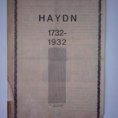 Pliant - Program Haydn 1732-1932