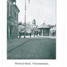 1258 - Buzau, RAMNICU SARAT, street Victoria - old postcard - unused - Carte Postala Muntenia 1904-1918, Necirculata