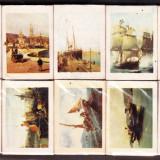 CHIBRIT / CHIBRITE / CHIBRITURI VECHI  Grecia LOT 10 cutii  tematica corabii cu panze anii 1970-1975