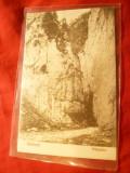 Ilustrata Zarnesti - Prapastia , anii '20 ,Foto V.Gregorsch Zarnesti