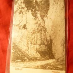 Ilustrata Zarnesti - Prapastia , anii '20 ,Foto V.Gregorsch Zarnesti, Necirculata