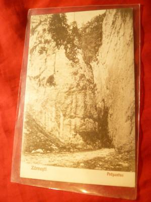 Ilustrata Zarnesti - Prapastia , anii '20 ,Foto V.Gregorsch Zarnesti foto