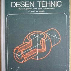 CC3 - DESEN TEHNIC - HUSEIN GHEORGHE - TUDOSE MIHAIL - EDITIA 1974