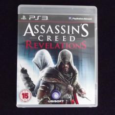 Assassins Creed - Revelations: PS3 - Folosit - Jocuri PS3 Ubisoft, Role playing, 16+, Single player