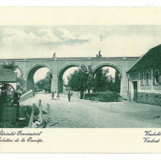 1377 - Caras Severin, ORAVITA, viaduct - old postcard - unused - Carte Postala Banat 1904-1918, Necirculata, Printata
