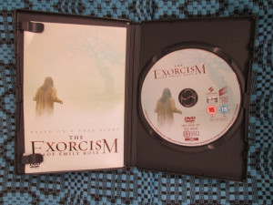 THE EXORCISM OF EMILY ROSE - film HORROR DVD, 2005  (original din Anglia, in stare impecabila!!!)