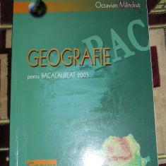 RWX 06 - GEOGRAFIE - TESTE BACALAUREAT - 2005