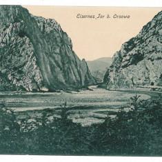 1165 - ORSOVA, KAZANE - old postcard - used - 1917 - Carte Postala Banat 1904-1918, Circulata, Printata