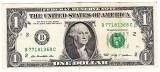 SUA USA bancnota ONE DOLLAR 2009