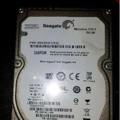 Vand HDD laptop Seagate Momentus 250Gb 7200 RPM, 200-299 GB, SATA, Altul