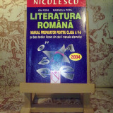 Ion Popa - Literatura romana manual preparator pentru clasa a V a - Manual scolar, Clasa 5