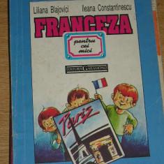 MCC2 - FRANCEZA PENTRU CEI MICI - L BLAJOVICI - I CONSTANTINESCU - ED 1993 - Carte educativa