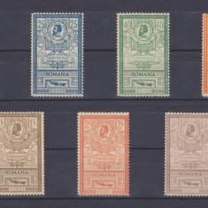 1903 - EFIGII - SERIE COMPLETA - MNH LUX - RAR !! - Timbre Romania, Regi, Nestampilat