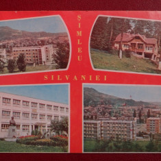 Vedere/Carte postala - Simleu Silvaniei - Marca fixa - Carte Postala Banat dupa 1918
