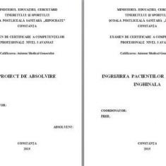 LUCRARE DE LICENTA A.M.G. - INGRIJIREA PACIENTILOR CU HERNIE INGHINALA (1) (+ prezentare PP)