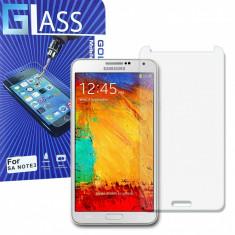 Protectie ecran Folie de sticla Tempered Glass pentru Samsung Galaxy NOTE 3 + cablu date