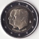 Moneda - Regatul Spaniei - 2 Euro 2014 - Aniversarea accederii la tron a regelui Felipe al VI-lea