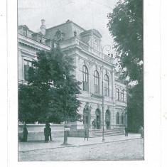 1375 - Vrancea, FOCSANI, Palatul Administrativ - old postcard - unused - Carte Postala Moldova 1904-1918, Necirculata, Printata