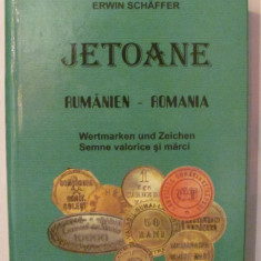 "CY - Erwin Schaffer ""Jetoane ROMANIA"" editia 2003"