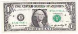 SUA USA bancnota ONE DOLLAR 2006