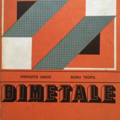 BIMETALE - Popovits David, Subu Teofil - Carti Automatica