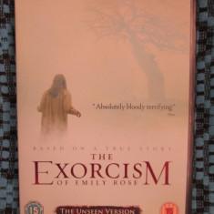 THE EXORCISM OF EMILY ROSE - film HORROR DVD, 2005  (original din Anglia, in stare impecabila!!!), Engleza