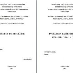 LUCRARE DE LICENTA A.M.G. - INGRIJIREA PACIENTULUI HEPATITA VIRALA TIP C (+PREZENTARE P.P.)