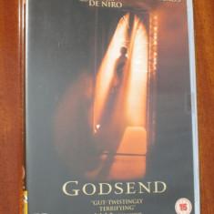 GODSEND - film DVD - cu ROBERT DE NIRO (original din Anglia, in stare impecabila!!!), Engleza