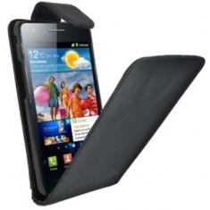 Husa toc flip piele ecologica Samsung Galaxy S2 i9100