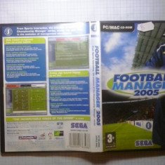 Joc PC - Football manager 2005 - (GameLand ) - Jocuri PC, Strategie, 3+