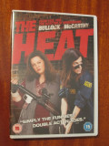 THE HEAT- film COMEDIE DVD - cu SANDRA BULLOCK (original din Anglia, in stare impecabila!!!)