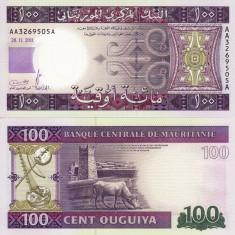 MAURITANIA 100 ouguiya 2011 UNC!!!