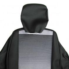 Huse scaune interior compatibile Logan I din 9 piese. Calitate Premium - Husa scaun auto