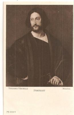 CPI (B5130) TIZIANO VECELLI, PORTRET, MUNCHEN - GALERIA UNIVERSALA, NECIRCULATA foto