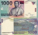 INDONEZIA 1.000 rupiah 2009 UNC!!!