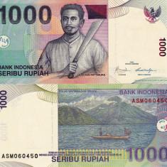 INDONEZIA 1.000 rupiah 2009 UNC!!! - bancnota asia