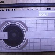 RADIO GOLF, FABRICAT DE TEHNOTON ANII 80 .FUNCTIONEAZA . - Aparat radio
