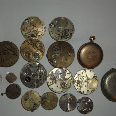 MECANISME CEASURI BUZUNAR FOARTE VECHI - Ceas de buzunar vechi