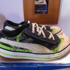 Pantofi sport puma pentru copii unisex mar.31 - Adidasi copii Puma, Culoare: Bleu