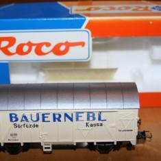 Macheta vagon - Roco HO - Macheta Feroviara Roco, 1:87, Vagoane