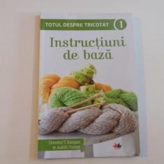 TOTUL DESPRE TRICOTAT. INSTRUCTIUNI DE BAZA 1de DOROTHY T. RATIGAN&JUDITH DURANT 2015