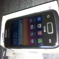 Samsung GALAXY Y Duos GT S6102 - Telefon mobil Samsung Galaxy Y, Gri, Neblocat