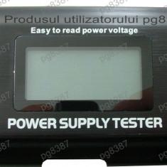 Tester de surse PC, cu afisaj digital - 114791 - Sursa